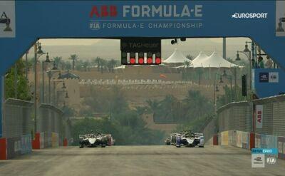 Skrót pierwszego w sezonie wyścigu Formuły E