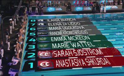 McKeon najlepsza na 100m stylem motylkowym w ISL w Londynie