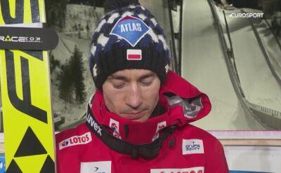 Stoch po konkursie w Lahti