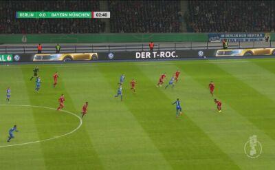 Błyskawiczny cios Herthy w spotkaniu z Bayernem