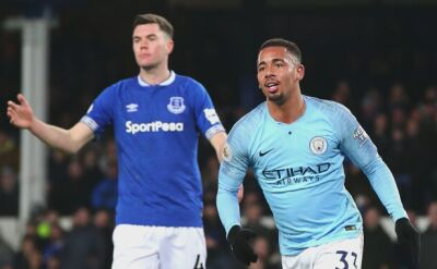 Manchester City pokonał Everton 2:0