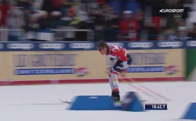Triumf Norwegów w sprincie drużynowym