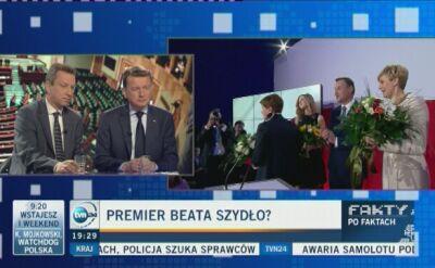 """Szydło na czele rządu? """"Premierem zostanie polityk partii, która wygra wybory"""""""