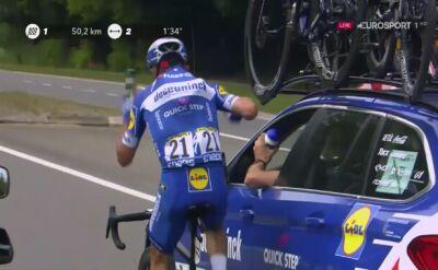 Najlepszy francuski kolarz w roli woziwody