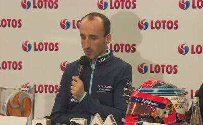 Kubica o swoim powrocie do Formuły 1