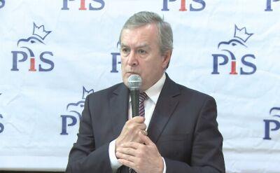 Piotr Gliński na spotkaniu z mieszkańcami Zalipia