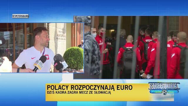 Rzecznik PZPN kilka godzin przed meczem ze Słowacją