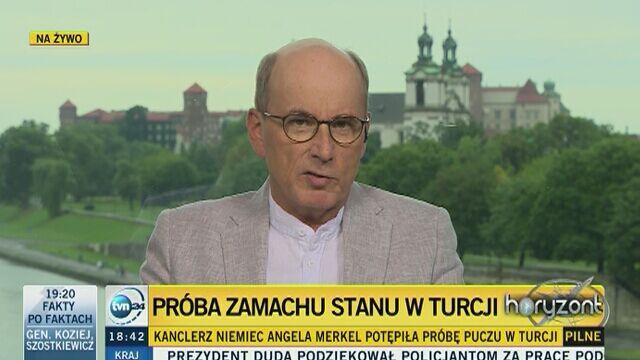 """""""Zamach stanu w Turcji przekształci ten kraj w dyktaturę"""""""