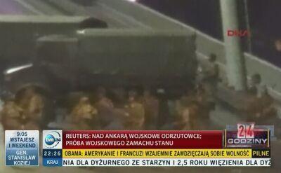 Strzały w Ankarze, blokada Bosforu. Premier: próba zamachu stanu