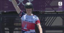 Tokio. BMX: niesamowity przejazd Charlotte Worthington w finale freestyle'u