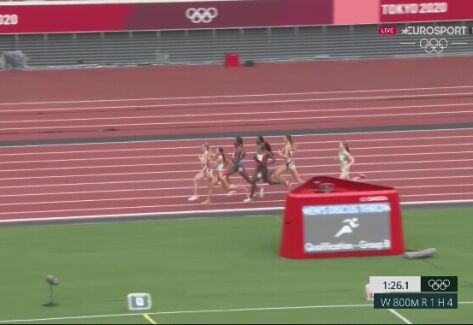 Tokio. Anna Wielgosz bez awansu do półfinału w biegu na 800 metrów