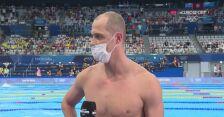 Tokio. Paweł Korzeniowski po eliminacjach na 100 m motylkowym