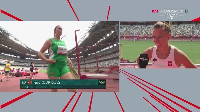 Tokio. Rozmowa z Joanną Linkiewicz po eliminacjach 400 m przez płotki