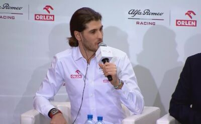 Raikkonen i Giovinazzi przed nowym sezonem F1