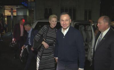 Para prezydencka rozpoczęła pięciodniową wizytę w USA