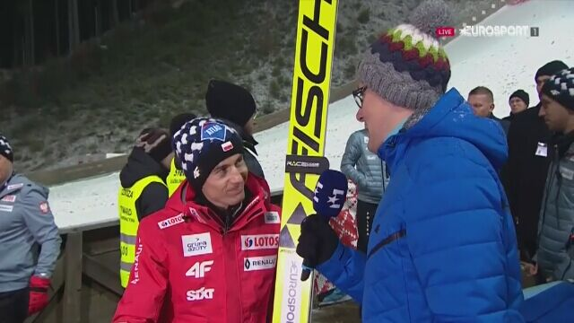 Kamil Stoch: powinno być nas 7-8 w drugiej serii