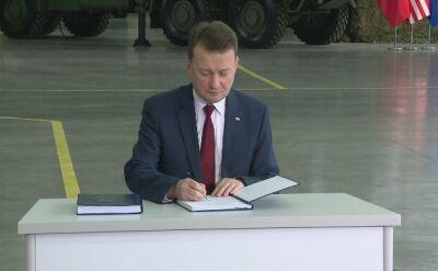 Umowa na zakup systemu Patriot podpisana