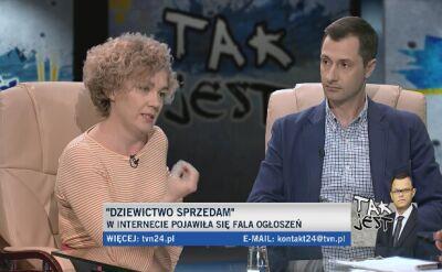 Joanna Keszka i Michał Lew-Starowicz w Tak Jest