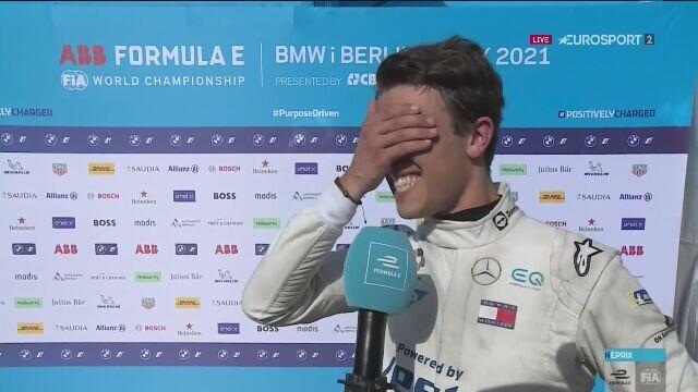Nyck de Vries po zdobyciu mistrzostwa świata w Formule E