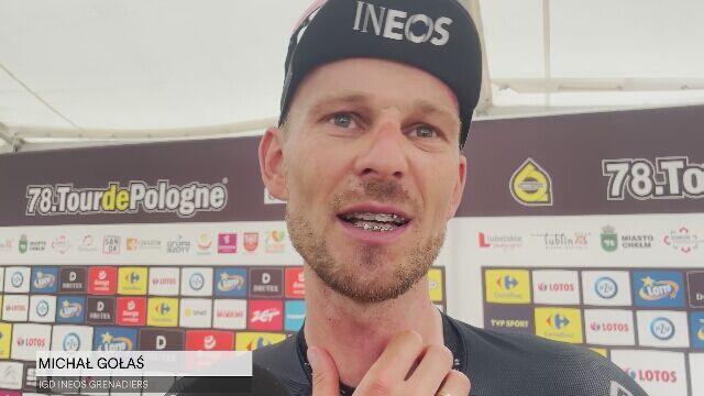 Gołaś o swoim ostatnim starcie w karierze na Tour de Pologne