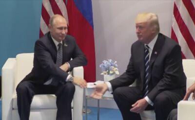 Trump i Putin spotkali się między innymi w Hamburgu