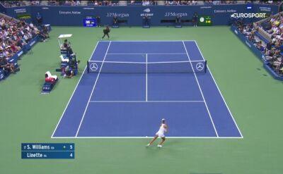 Wielka Serena za mocna dla Magdy Linette