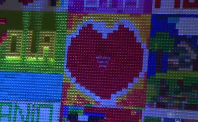 Instalacja z klocków Lego na rzeszowskim rynku