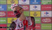 Rafał Majka po wygraniu 15. etapu Vuelta a Espana