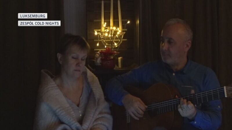 "Zespół Cold Nights śpiewa ""Cichą noc"" po luksembursku"