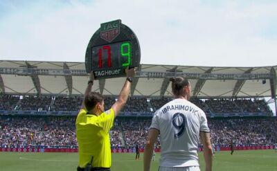 Pięć błysków Ibrahimovicia w Los Angeles Galaxy