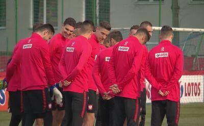 Trening reprezentacji Polski przed meczami z Austrią i Łotwą