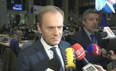 Tusk: Pokazałem kanclerzowi Austrii wynik meczu. Nie był zadowolony