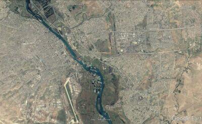Prom zatonął niedaleko Mosulu w Iraku