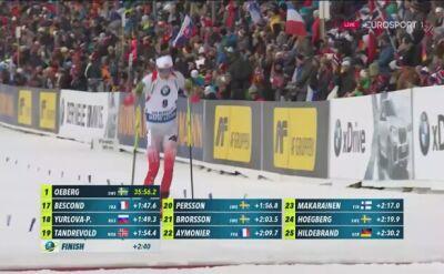 Hojnisz 26. w biegu ze startu wspólnego w Oslo