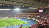 Stadion w Wiedniu kilka minut przed meczem