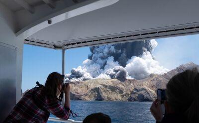 Erupcja wulkanu w Nowej Zelandii. Co najmniej pięć osób nie żyje