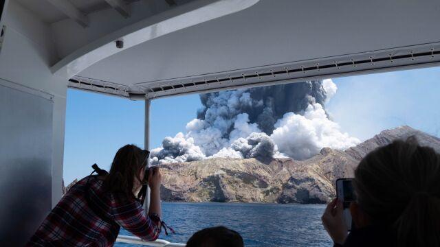 09.12.2019 | Erupcja wulkanu w Nowej Zelandii. Co najmniej pięć osób nie żyje