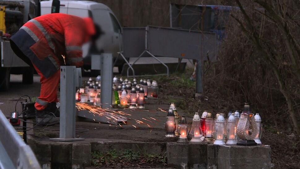 To tu pięcioro nastolatków zginęło w wypadku. Po nim pojawiły się barierki