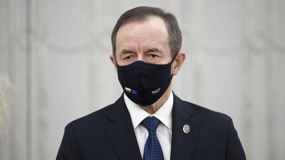 """Marszałek Senatu wygłosił orędzie. """"Wzywam rządzących do opamiętania"""""""