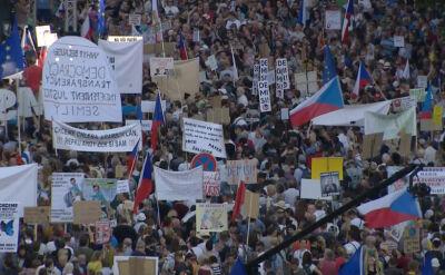 Protesty w Czechach. Domagają się ustąpienia premiera