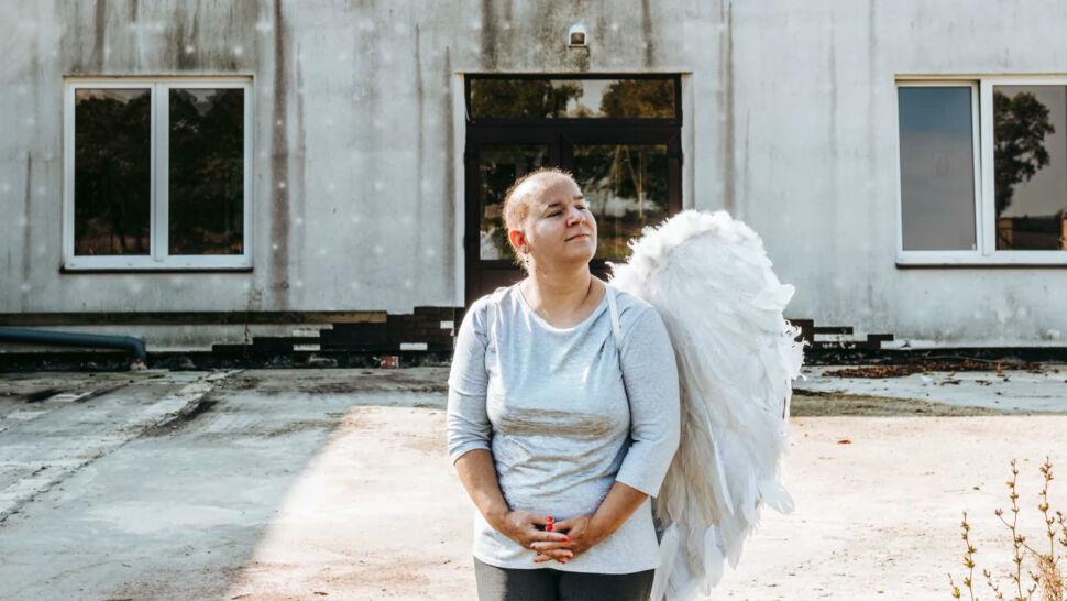Anioły, którym brakuje skrzydła. Wyjątkowa sesja zdjęciowa w Łopiennie