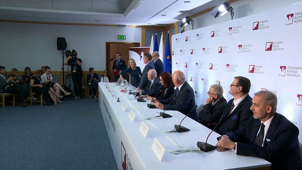 Wielkie losowanie w PKW. Znamy numery list w wyborach do Sejmu i Senatu