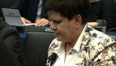 Nie było trzeciej próby Szydło. Na czele komisji w PE stanie Słowaczka