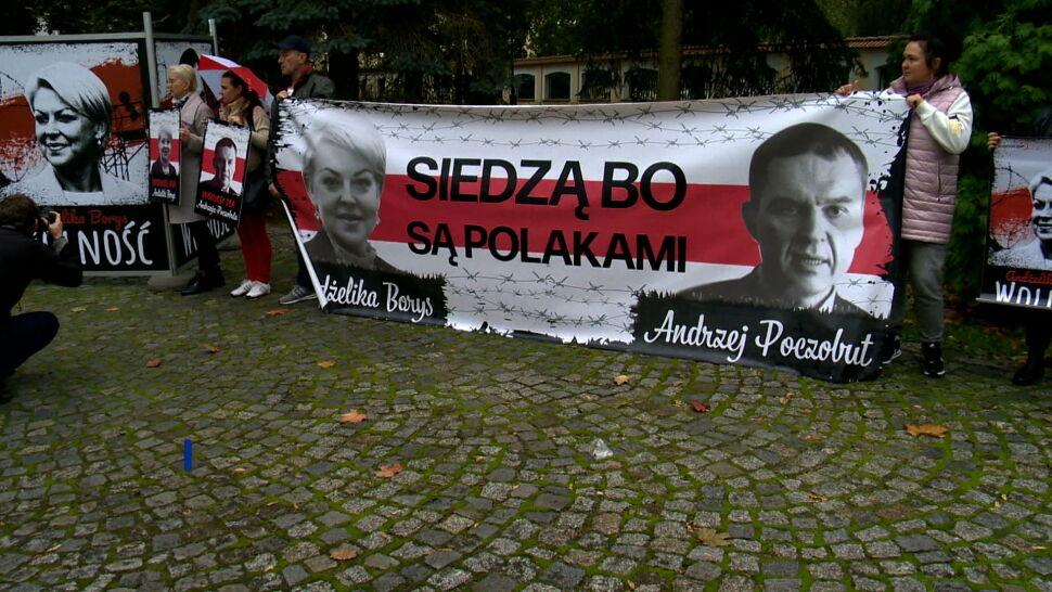 Apel o uwolnienie Andrzeja Poczobuta i Andżeliki Borys. Łukaszenka ich więzi, bo są Polakami