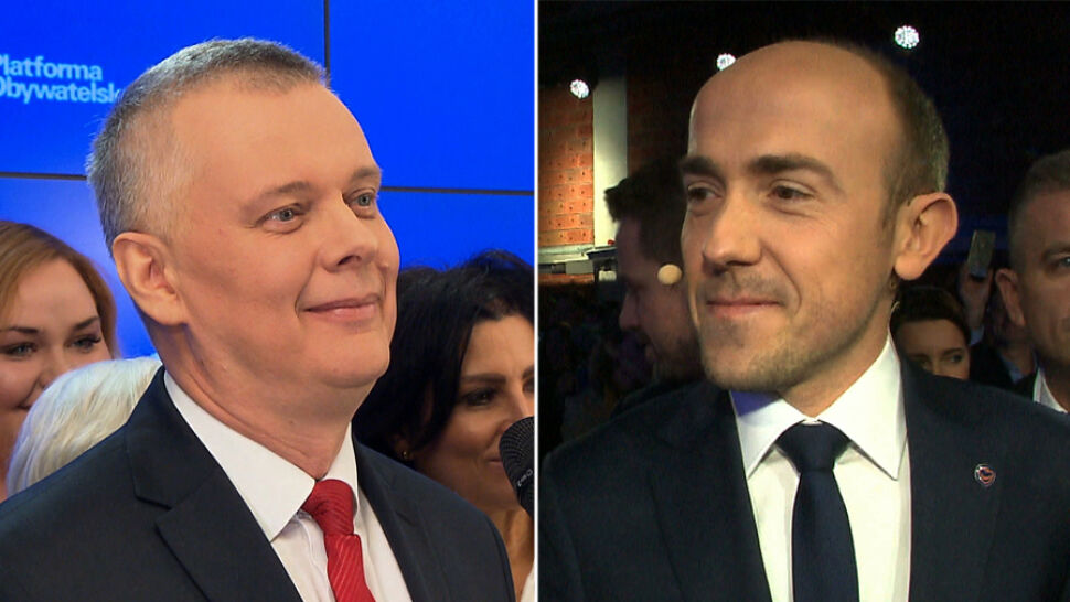 Tomasz Siemoniak i Borys Budka oddali się do dyspozycji Donalda Tuska. Byli na urodzinach dziennikarza, byli też tam posłowie PiS