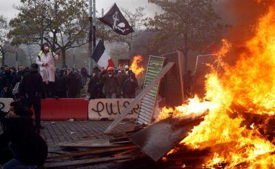 Zamieszki w Paryżu. Aresztowano ponad 100 osób