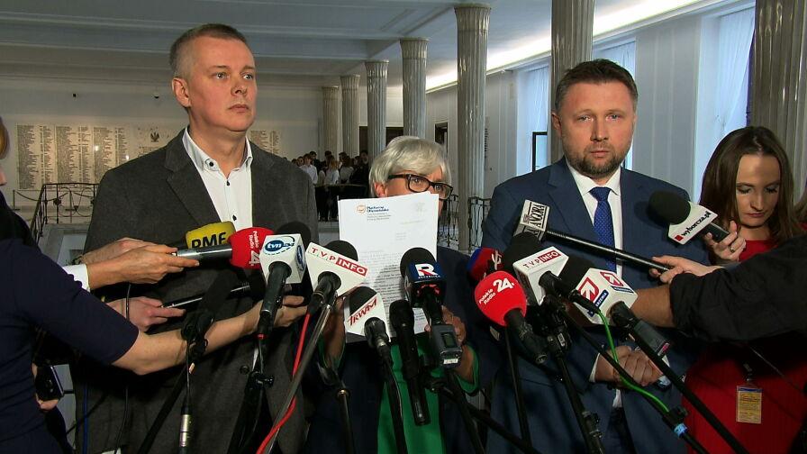 Apele opozycji w sprawie Macierewicza