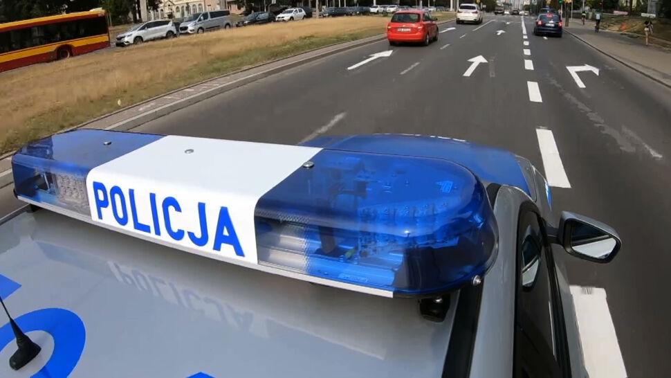 Po policyjnym pościgu w Wadowicach jeden z funkcjonariuszy zostanie wydalony ze służby