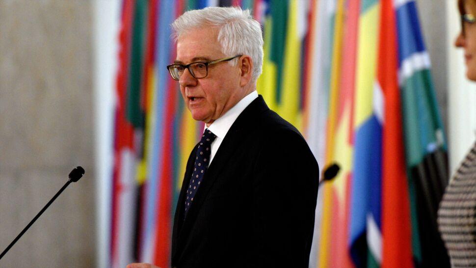 Szef MSZ chce rozmawiać z Fransem Timmermansem o artykule siódmym