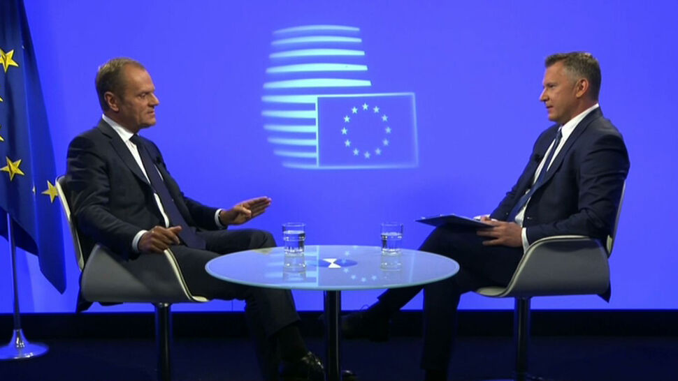 PiS: rejterada Tuska. PO: Kaczyński się boi. Komentarze po wywiadzie szefa Rady Europejskiej